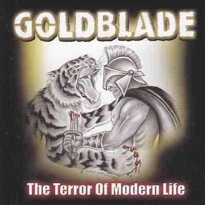 Goldblade - The Terror of Modern Life album cover