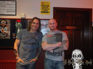 Matt with Mike Tramp