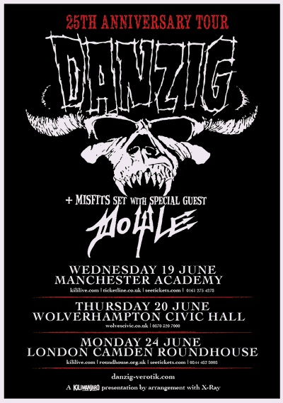 Danzig – 25th Anniversary Tour