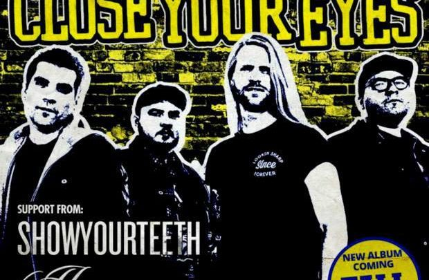 Close Your Eyes gig review – Basement Live, Oldham