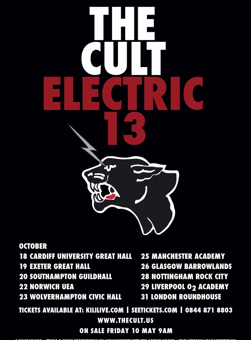 The Cult – Live at The Academy, Manchester