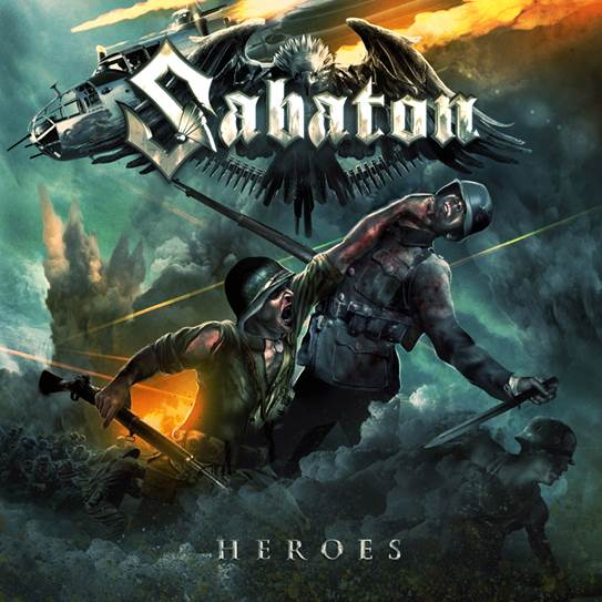 Sabaton Reveal New Artwork for 'Heroes'
