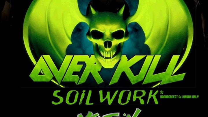 Overkill – live at Sound Control, Manchester