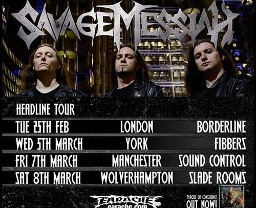 Savage Messiah at Sound Control (Manchester)