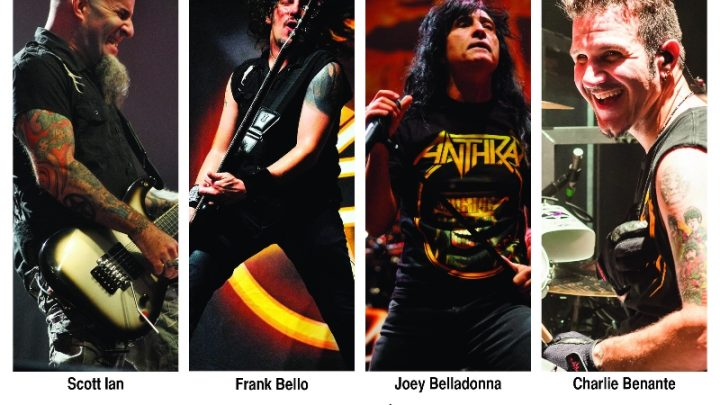 Anthrax: 2 Irish dates added ahead of Sonisphere