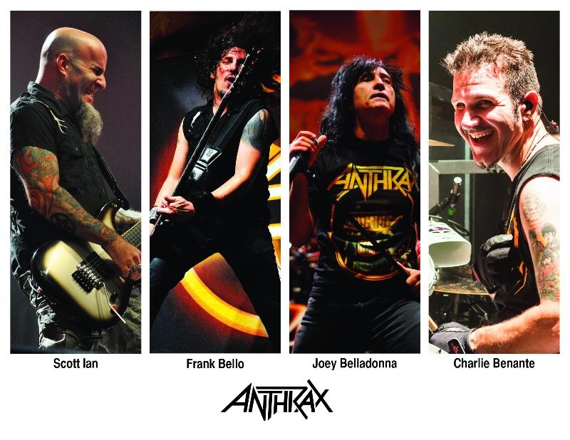 Anthrax: 2 Irish dates added ahead of Sonisphere