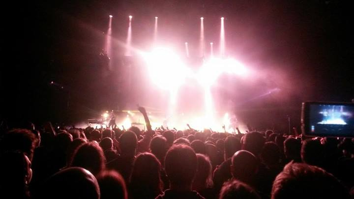 Nine Inch Nails @ The SSE Hydro, Glasgow, 20th May 2014