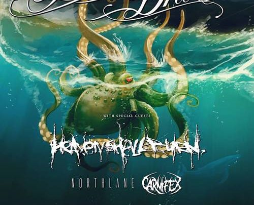 Carnifex to open for Parkway Drive UK Tour