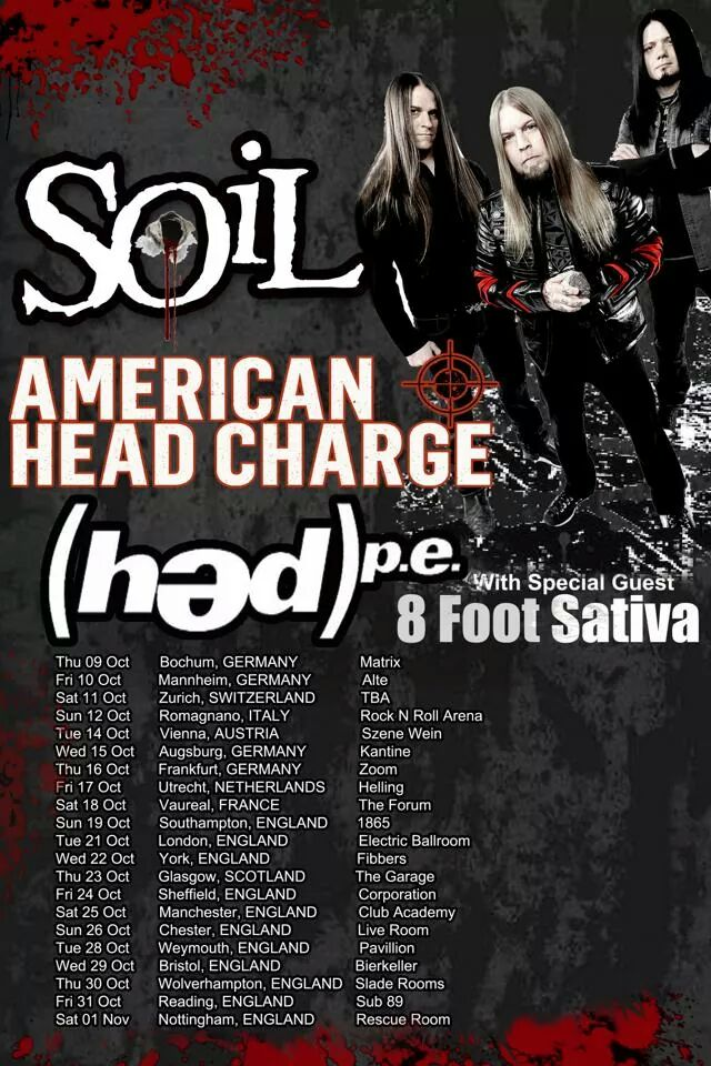 SOiL announce UK Headline Tour