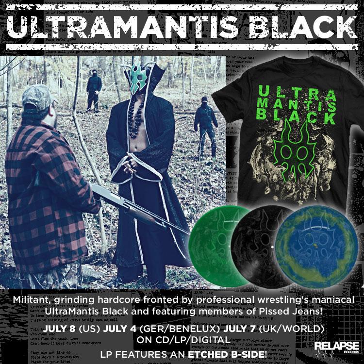 ULTRAMANTIS BLACK: Unveils New Track + Album Details