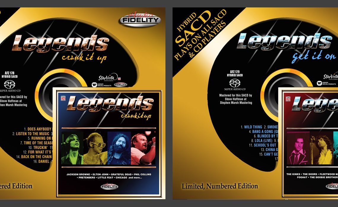 Audio Fidelity to release ultimate rock collection: Legends – 'Crank It Up' & 'Get It On'