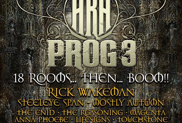 HRH PROG 3 announces Rick Wakeman to headline next Spring's event.