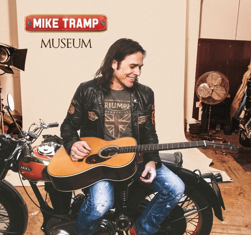 Mike Tramp no. 3 on the Danish charts