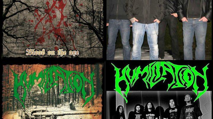 Humiliation / Paganizer split EP