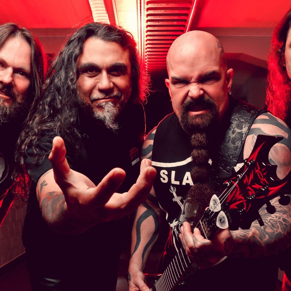 Slayer post more photo's from the studio