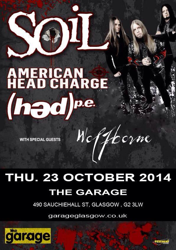 SOiL, American Head Charge + (HED) P.E