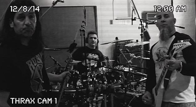 ANTHRAX ENTER STUDIO WITH PRODUCER JAY RUSTON