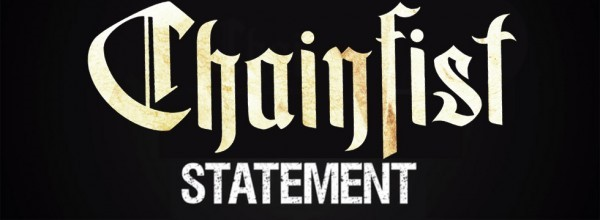 CHAINFIST 'Statement' Lyrics Video Released