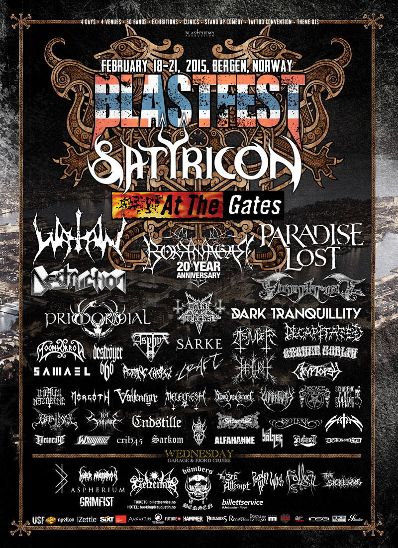 Blastfest Announce Day Schedule & Release Day Passes