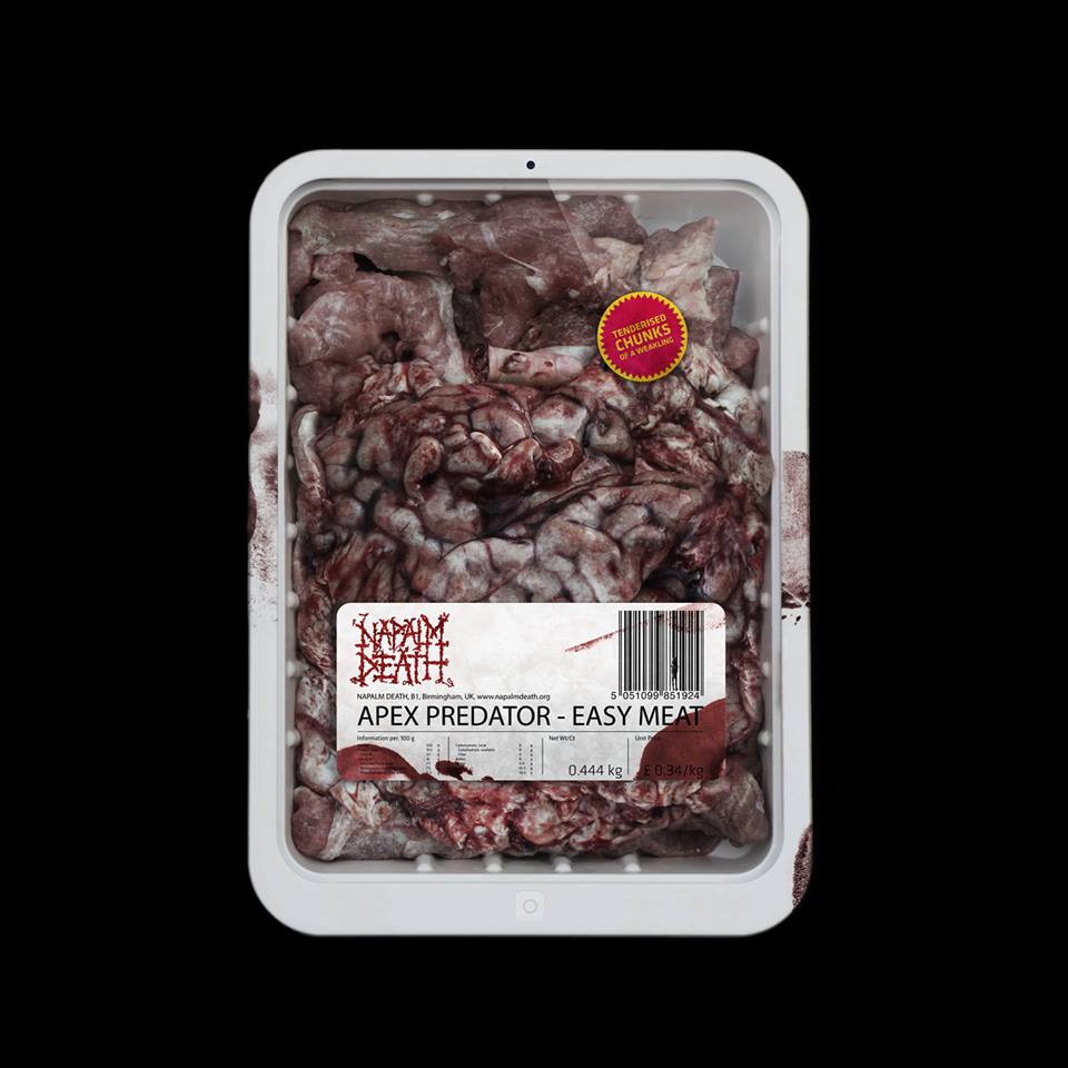 Napalm Death :: Apex Predator – Easy Meat