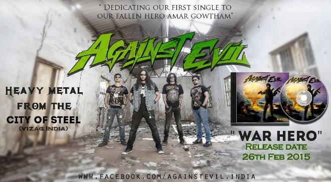 Against Evil – War Hero (single)