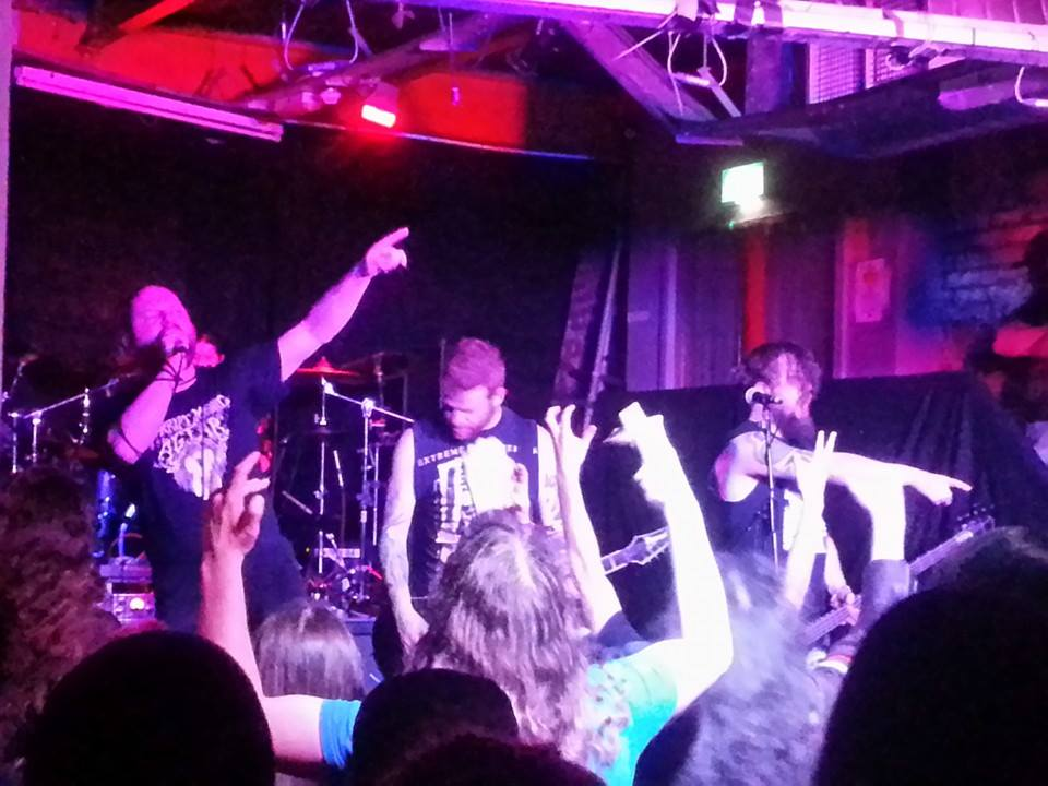Anaal Nathrakh live at Manchester Sound Control