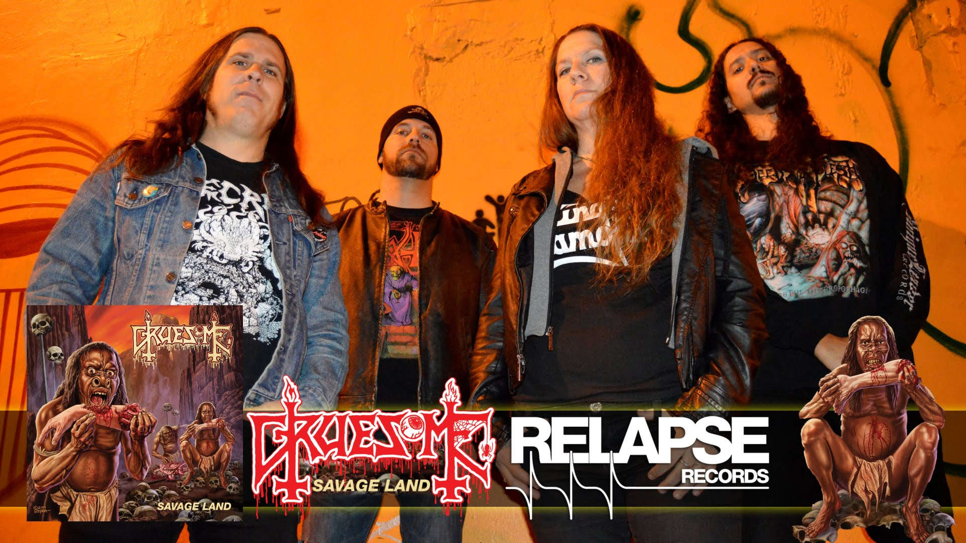 GRUESOME: Death-Loving Collective Premiere Slayer Cover