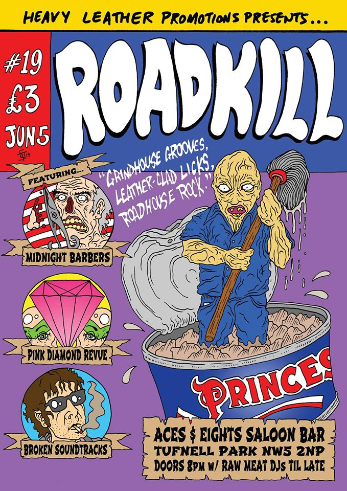 Heavy Leather Promotions presents ROADKILL #19