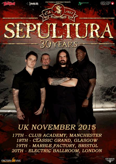Sepultura 30 years