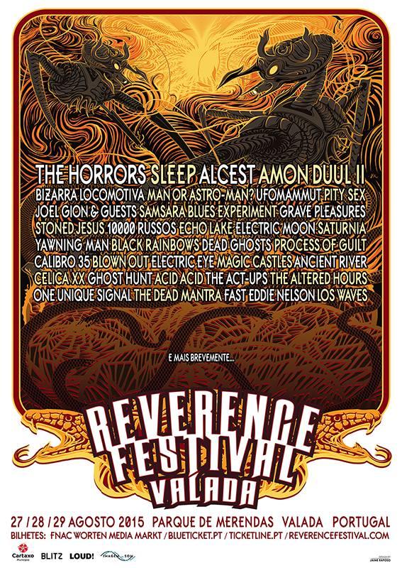 Reverence Valada Festival Portugal 2015
