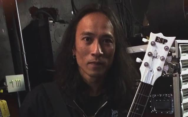 Ted Aguilar from Death Angel interview