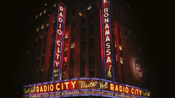 "JOE BONAMASSA RELEASES  ""LIVE AT RADIO CITY MUSIC HALL"" ON 2ND OCTOBER"