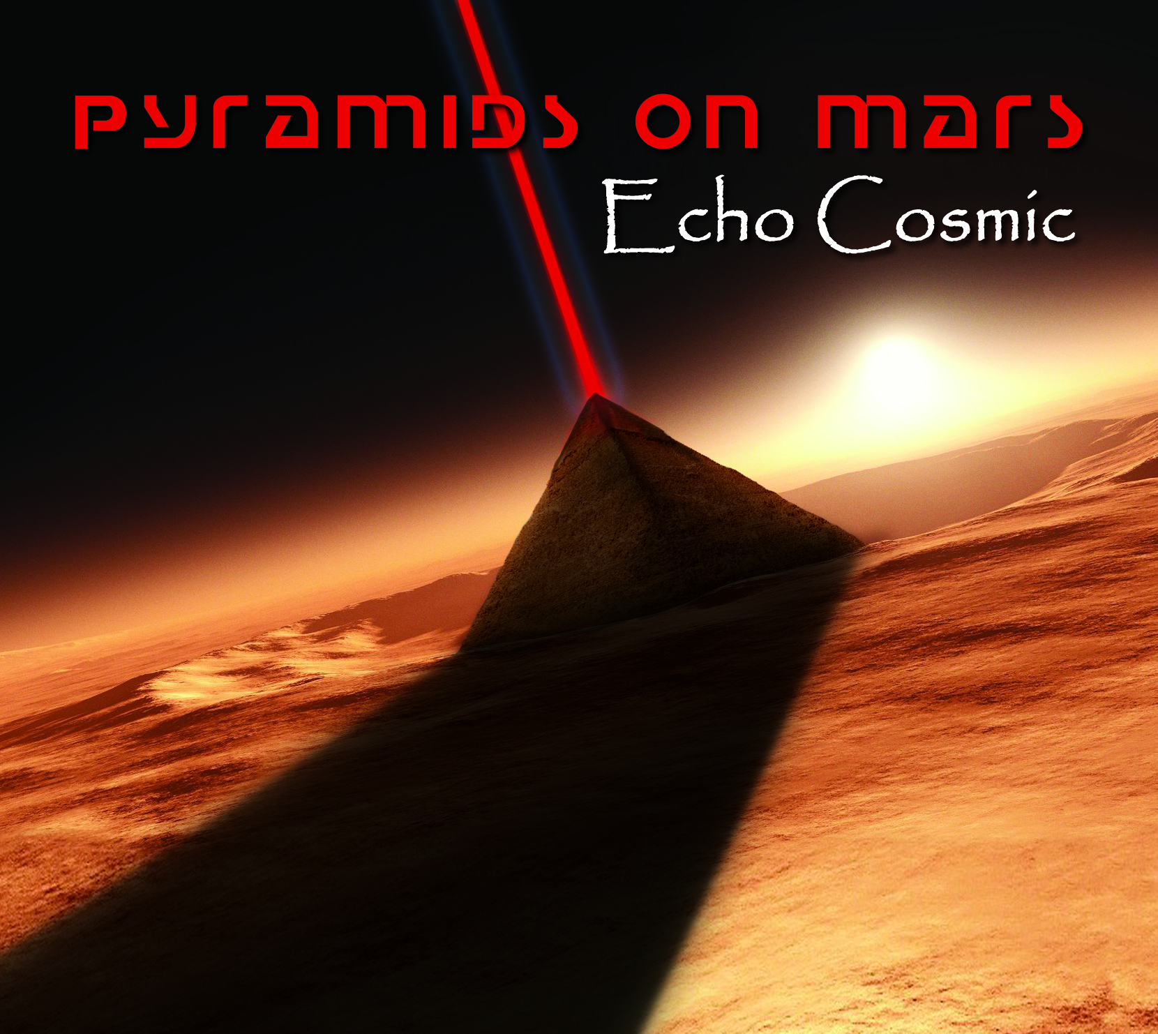 PYRAMIDS ON MARS New Album 'Echo Cosmic'