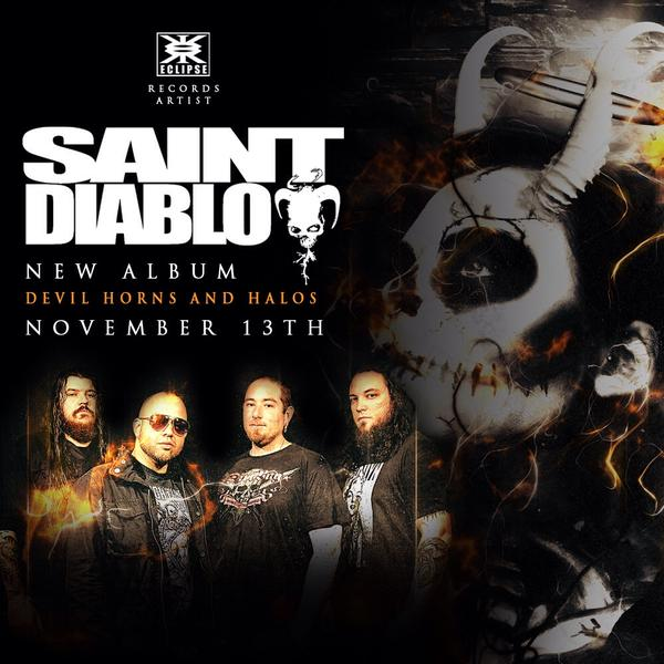 Saint Diablo – Devil Horns and Halos – CD Review