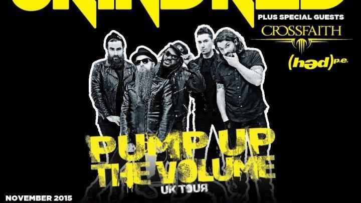 (hed)p.e. UK Tour with Skindred, Crossfaith & Yashin