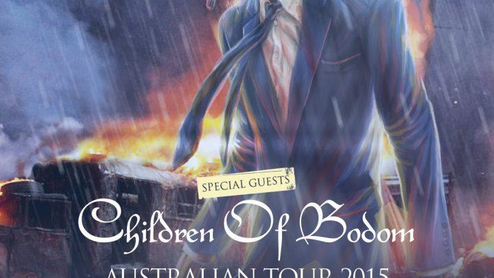 Megadeth/Children of Bodom – Eatons Hill Hotel, Brisbane, 21/10/15