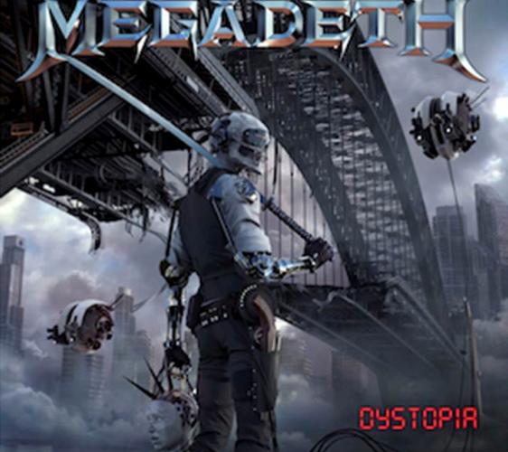 MEGADETH  UNLEASH NEW STUDIO ALBUM 'DYSTOPIA'