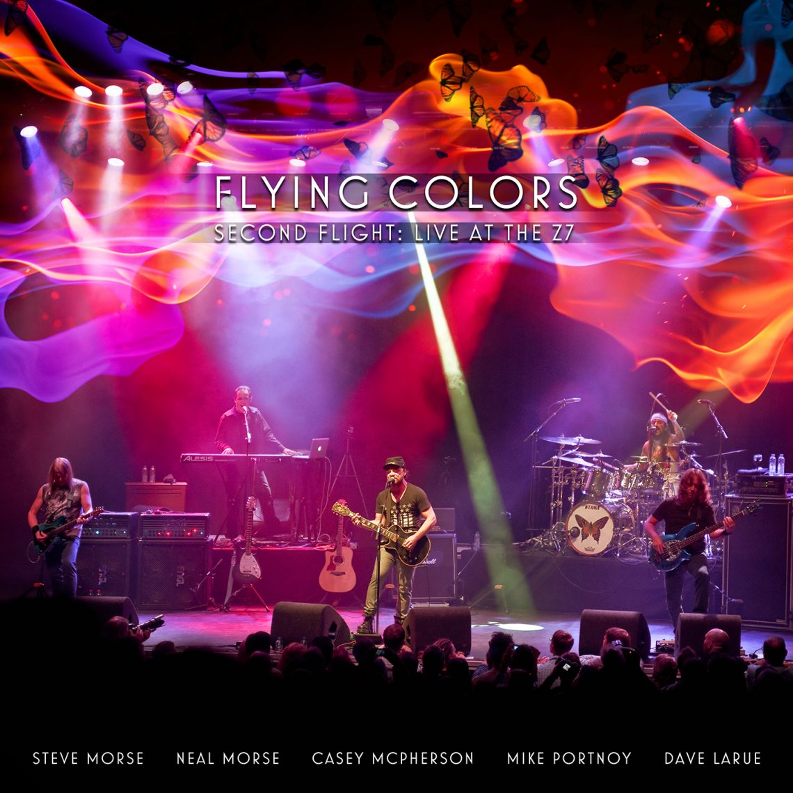 FLYING COLORS (MIKE PORTNOY) RELEASE 'BOMBS AWAY' LIVE VIDEO CLIP