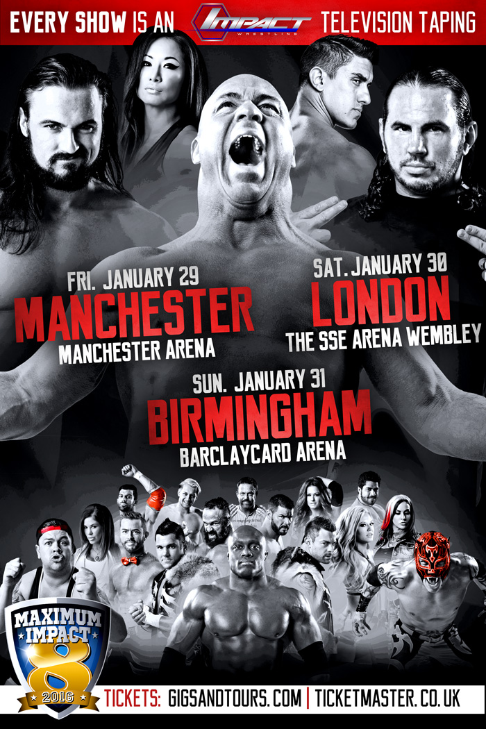 TNA UK Tour Poster