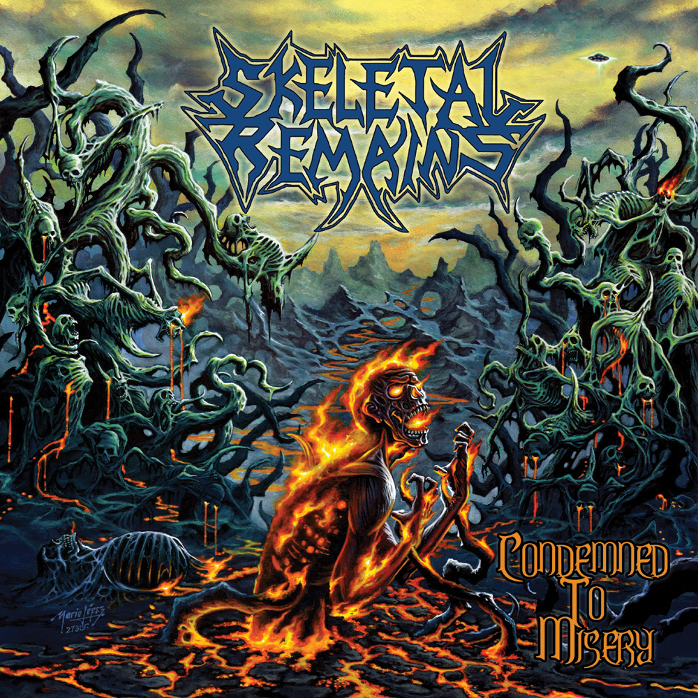 Skeletal Remains – Condemned to Misery Album Review