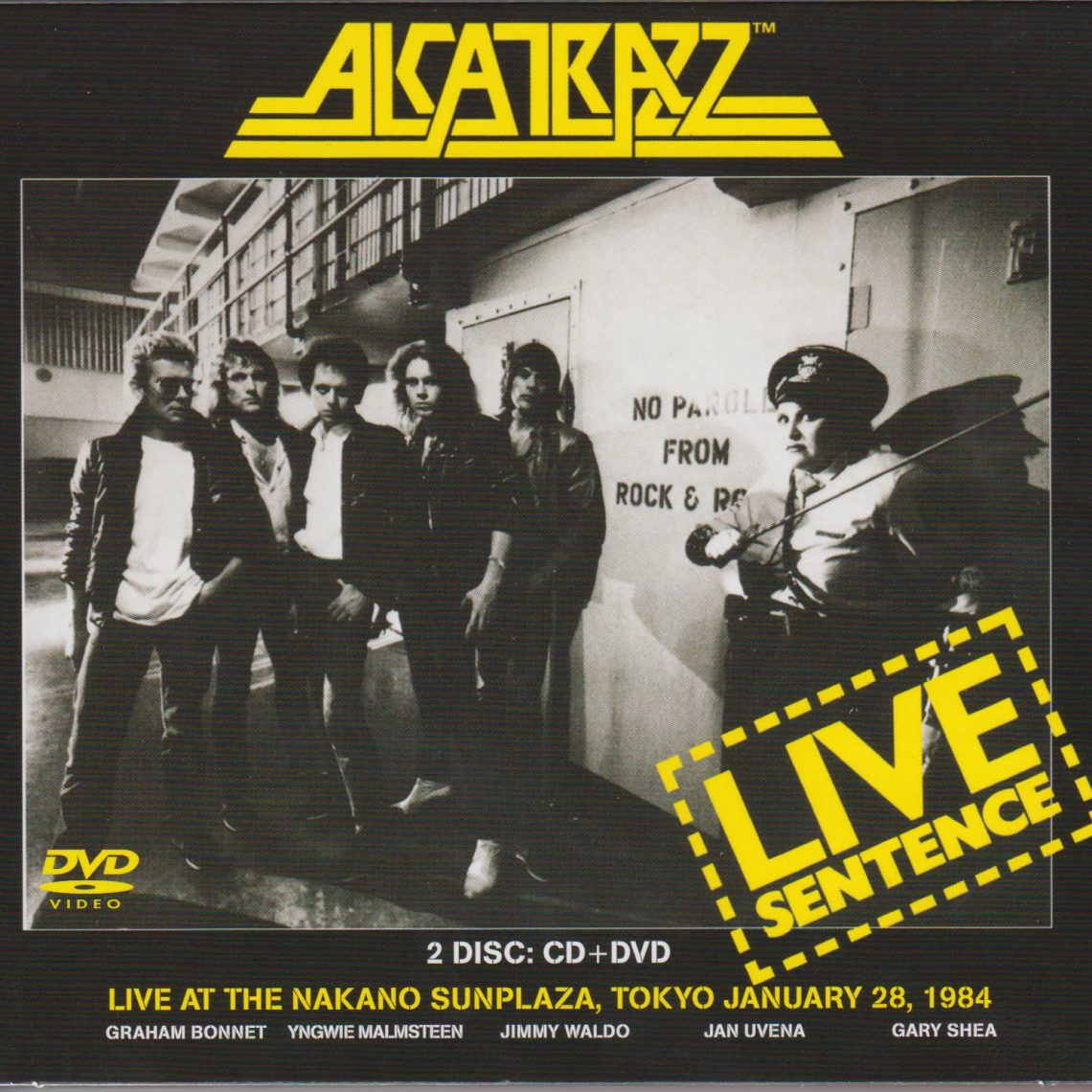 Alcatrazz – Live Sentence – Deluxe Edition CD Review