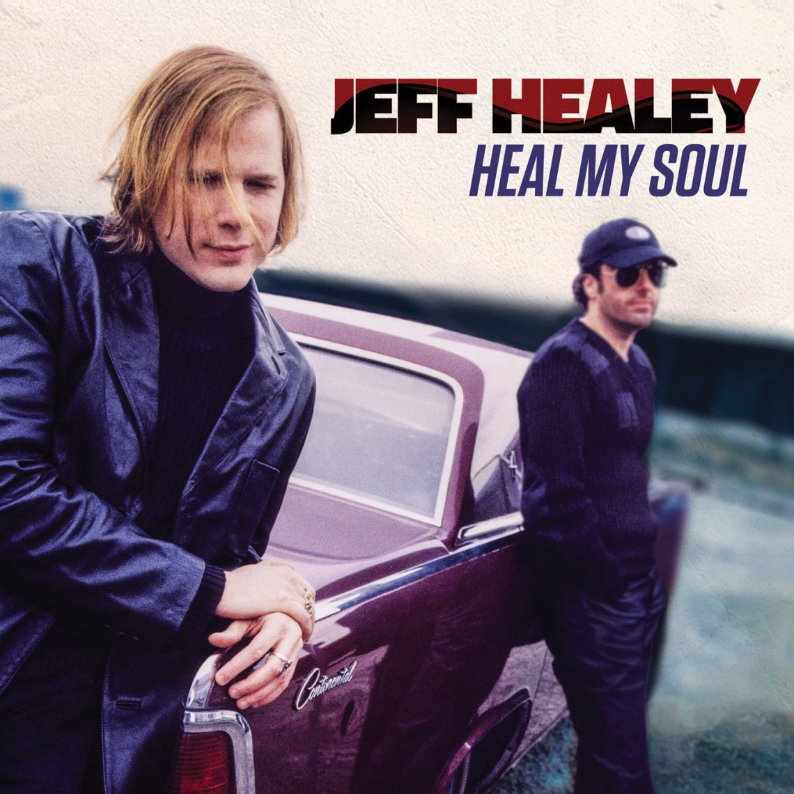 PROVOGUE COMMEMORATES JEFF HEALEY'S 50TH BIRTHDAY WITH RELEASE OF 12 ORIGINAL SONGS ON ALBUM 'HEAL MY SOUL'