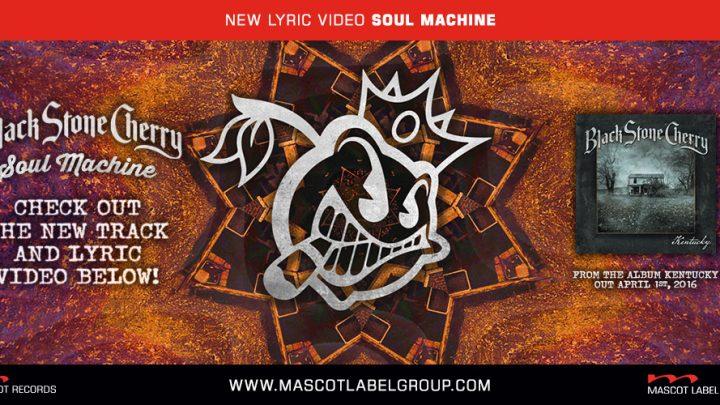 "BLACK STONE CHERRY release ""Soul Machine"" lyric video"