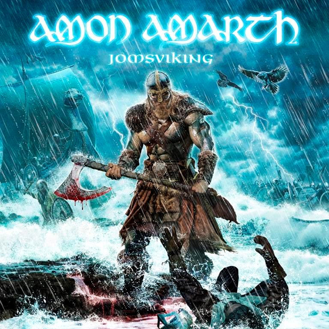 Amon Amarth – Jomsviking – CD Review