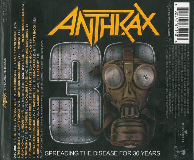 Anthrax – Spreading The Disease – 30th Anniversary -CD Review