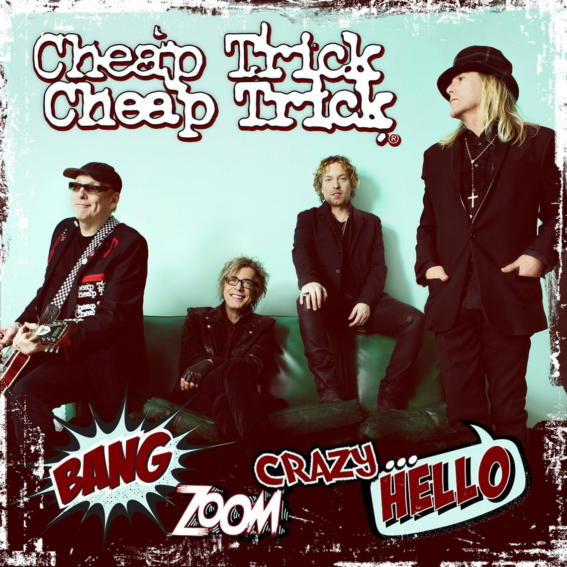 CHEAP TRICK – BANG ZOOM CRAZY… HELLO –  CD REVIEW