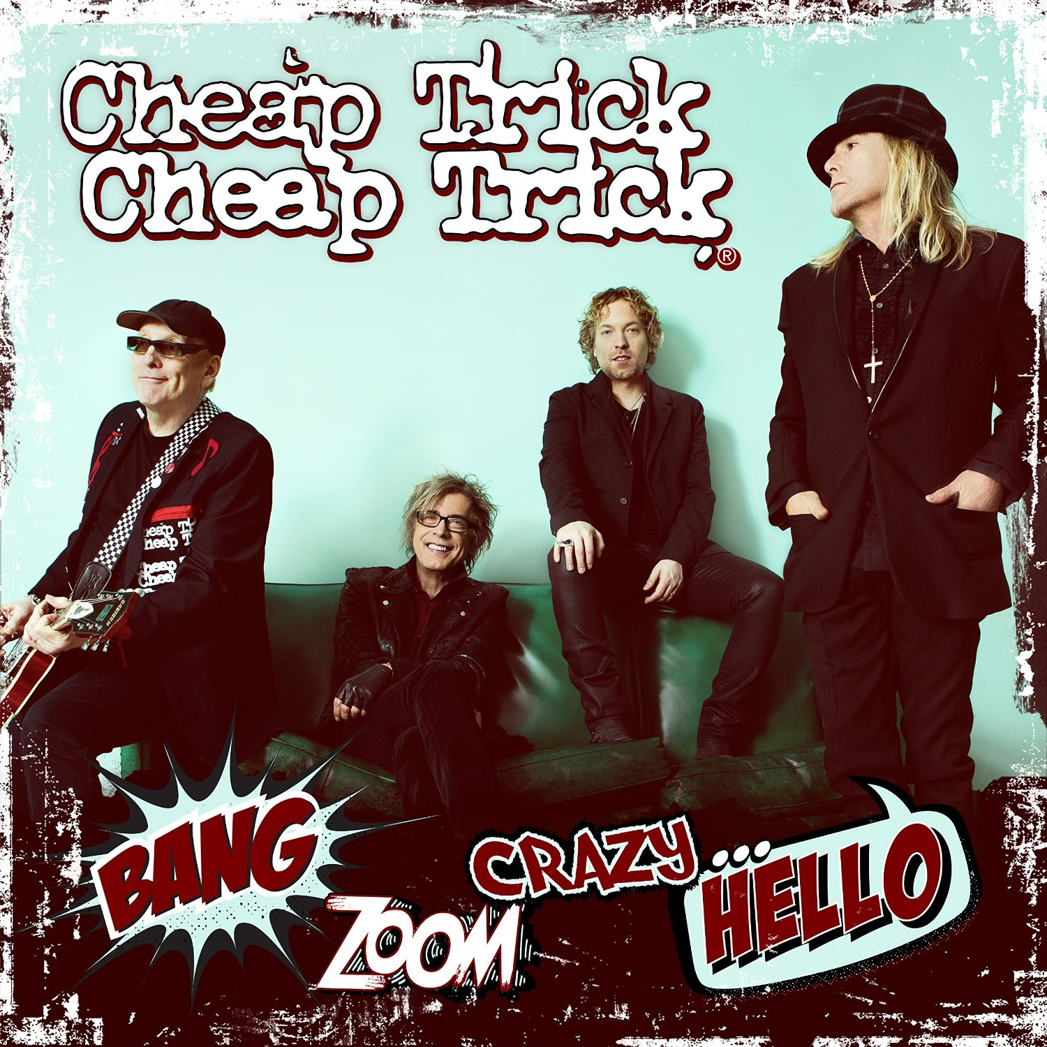 CHEAP TRICK – BANG ZOOM CRAZY… HELLO –  CD REVIEW