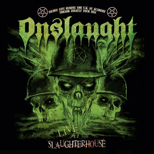 Onslaught – Live at the Slaughterhouse DVD/CD