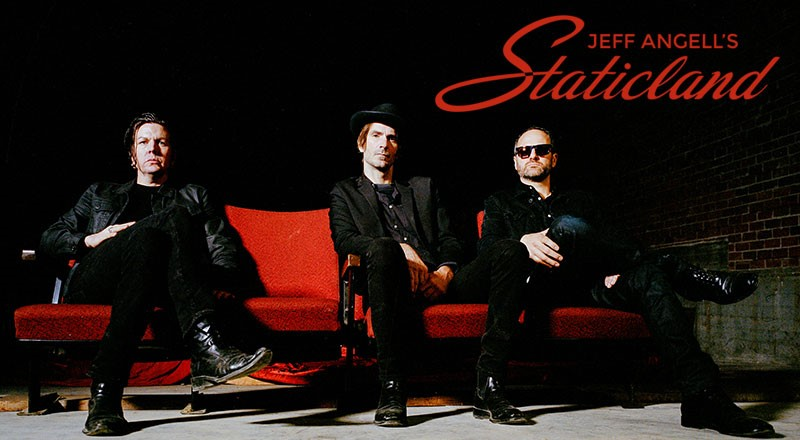 Jeff Angell's STATICLAND – New Self-Titled Album Out On 6th May and UK Show Dates