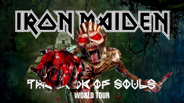 Image result for iron maiden book of souls world tour 2017
